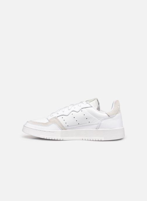 Sneakers adidas originals Supercourt W Bianco immagine frontale