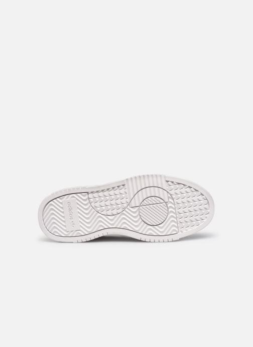 Sneakers adidas originals Supercourt W Bianco immagine dall'alto