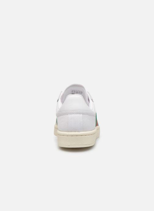 Baskets adidas originals Americana Low W Blanc vue droite