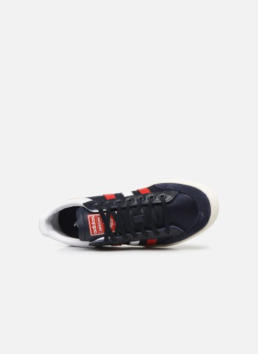 Trainers adidas originals Americana Low W Blue view from the left