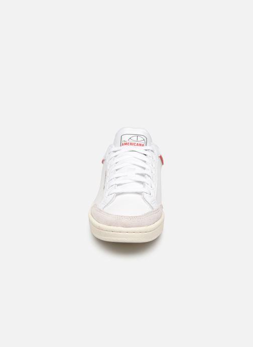 Sneaker adidas originals Americana Low W weiß schuhe getragen