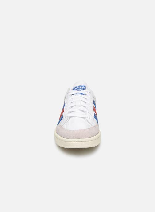 Sneaker adidas originals Americana Low weiß schuhe getragen