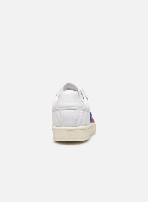 Baskets adidas originals Americana Low Blanc vue droite