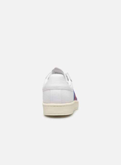 Baskets adidas originals Americana Low Blanc vue droite