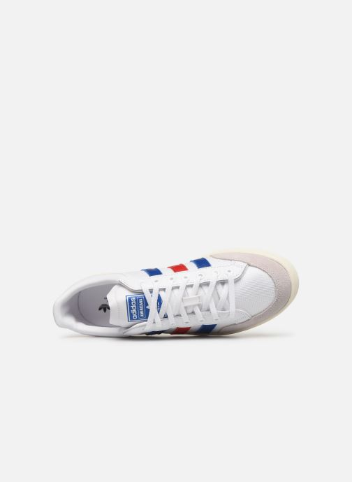 Baskets adidas originals Americana Low Blanc vue gauche