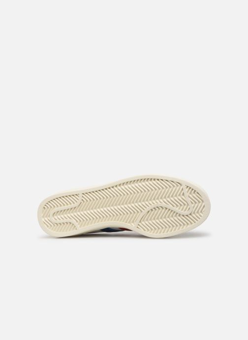 Baskets adidas originals Americana Low Blanc vue haut