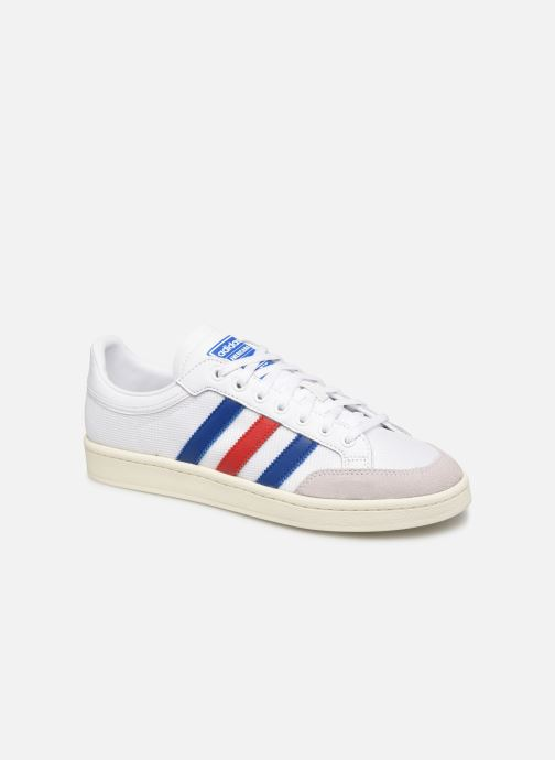 Baskets adidas originals Americana Low Blanc vue détail/paire