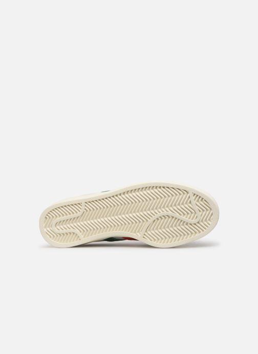 Baskets adidas originals Americana Low Blanc vue haut