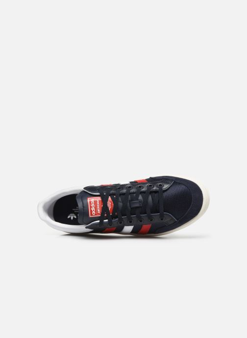 Sneaker adidas originals Americana Low blau ansicht von links