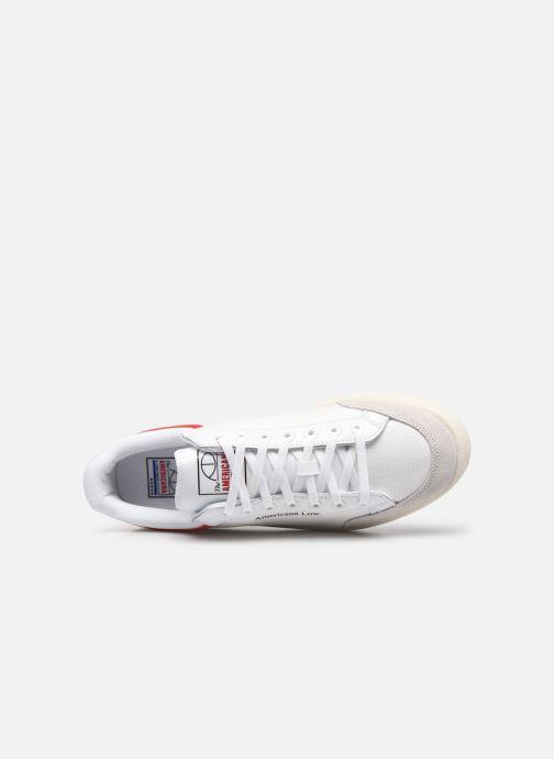 Sneaker adidas originals Americana Low weiß ansicht von links