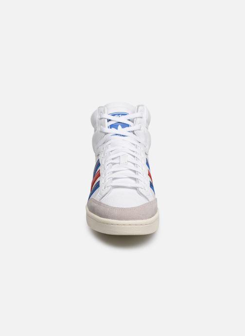 Baskets adidas originals Americana Hi Blanc vue portées chaussures
