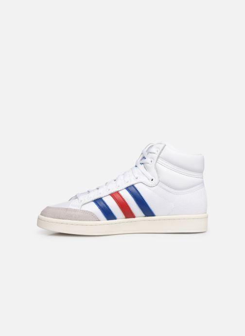 Sneaker adidas originals Americana Hi weiß ansicht von vorne