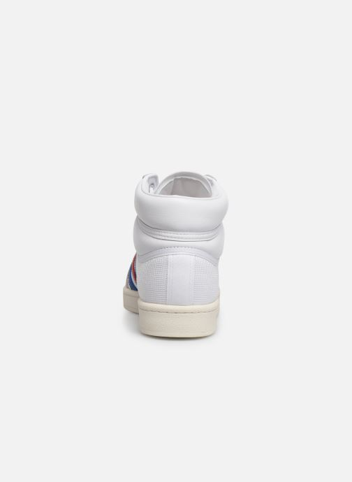Trainers adidas originals Americana Hi White view from the right