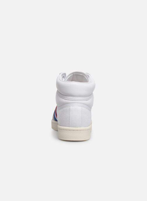 Baskets adidas originals Americana Hi Blanc vue droite