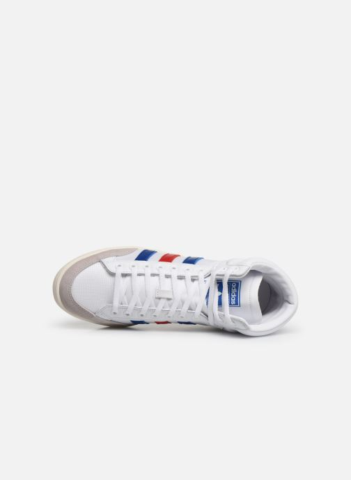 Trainers adidas originals Americana Hi White view from the left