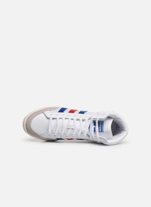 Sneaker adidas originals Americana Hi weiß ansicht von links