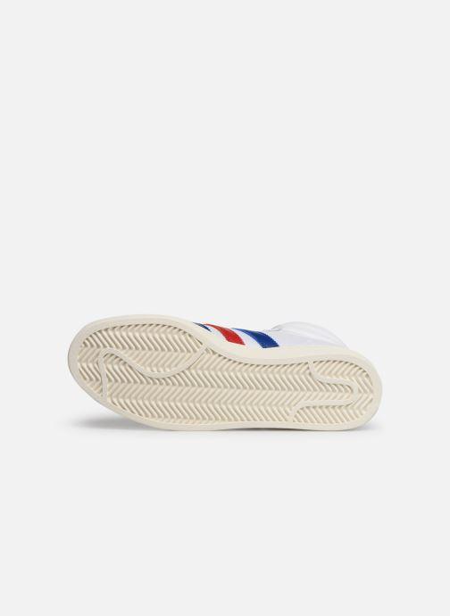Baskets adidas originals Americana Hi Blanc vue haut