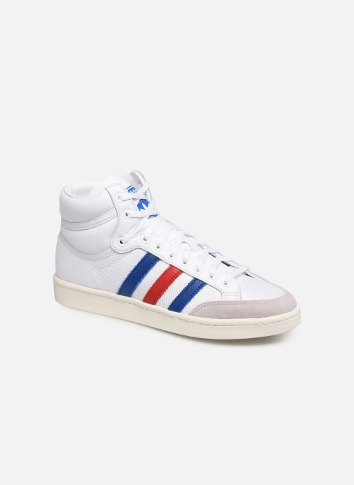 Sneakers adidas originals Americana Hi Hvid detaljeret billede af skoene
