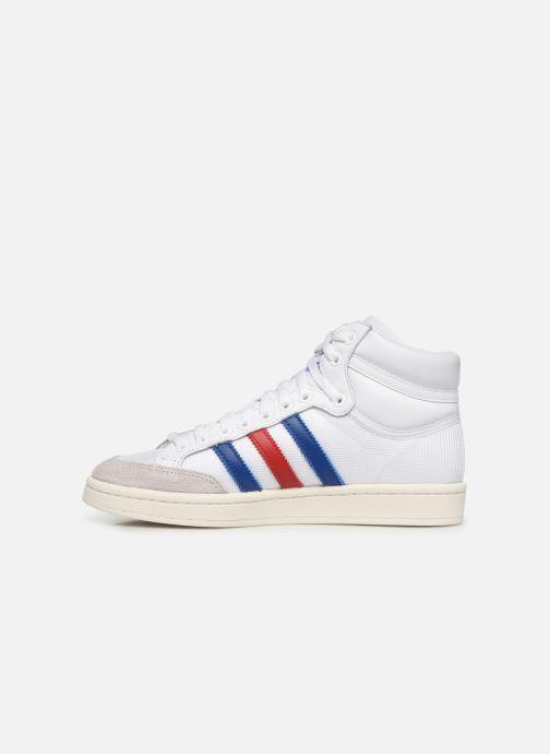 Baskets adidas originals Americana Hi W Blanc vue face