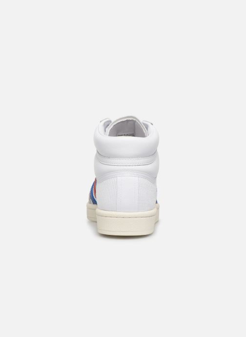 Baskets adidas originals Americana Hi W Blanc vue droite