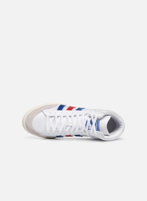 Baskets adidas originals Americana Hi W Blanc vue gauche