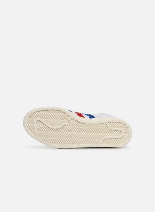 Baskets adidas originals Americana Hi W Blanc vue haut