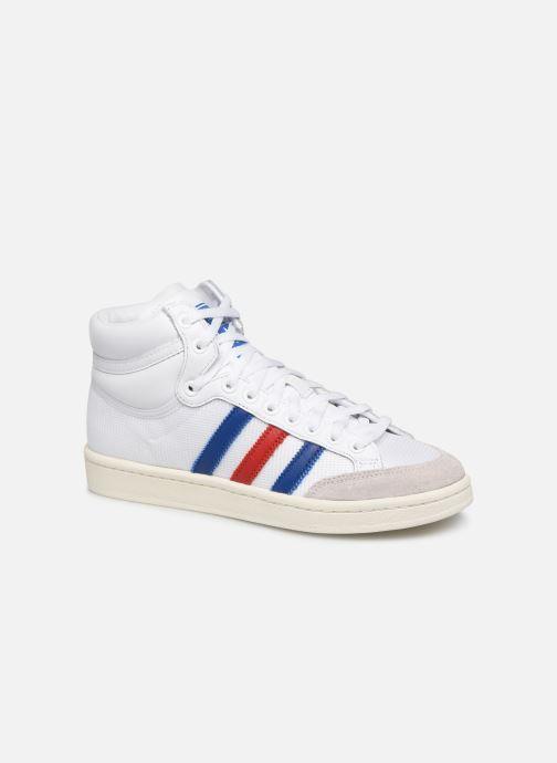 Baskets adidas originals Americana Hi W Blanc vue détail/paire