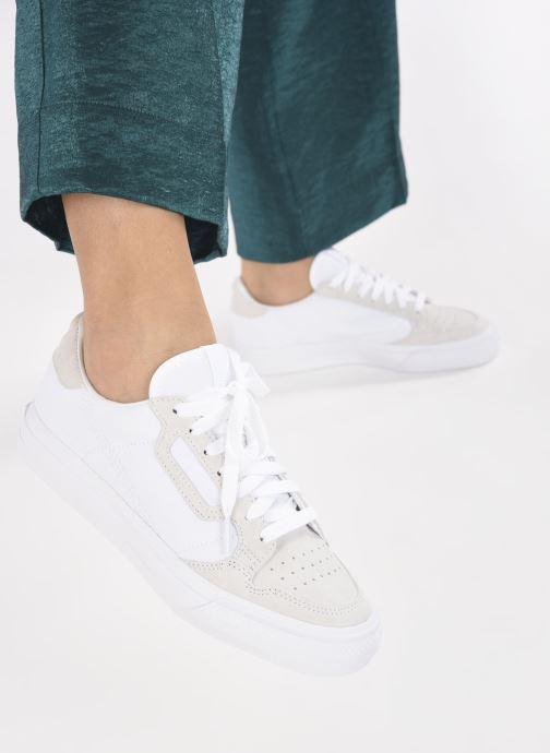 Sneakers adidas originals Continental Vulc W Wit onder