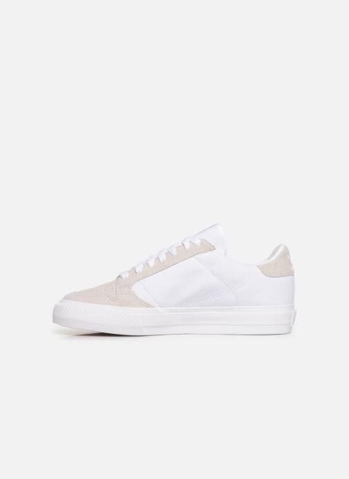 Sneakers adidas originals Continental Vulc W Wit voorkant