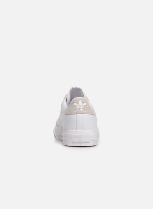 Trainers adidas originals Continental Vulc W White view from the right