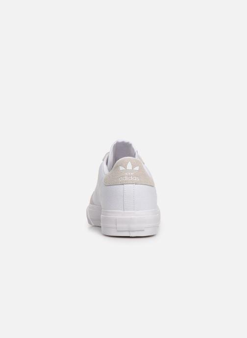 Baskets adidas originals Continental Vulc W Blanc vue droite