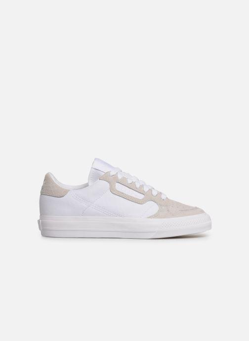 Sneakers adidas originals Continental Vulc W Wit achterkant