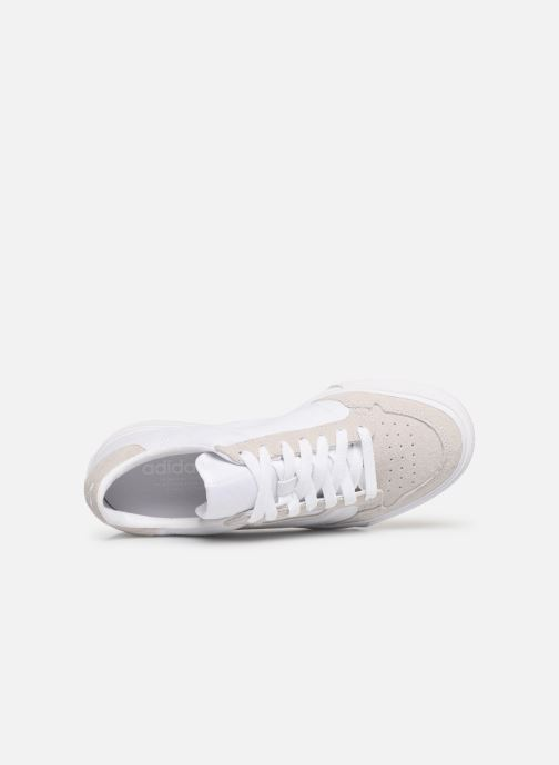 Trainers adidas originals Continental Vulc W White view from the left