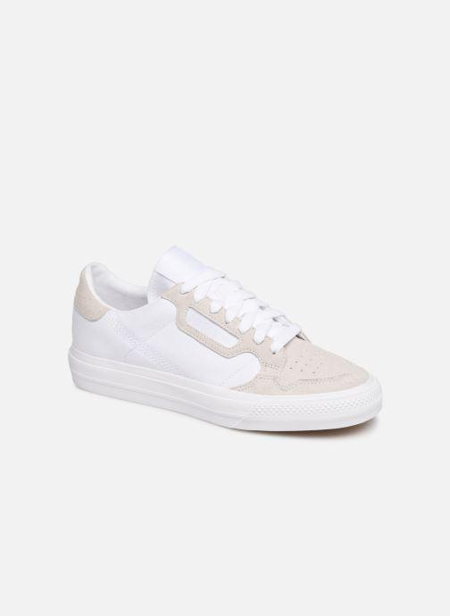 Baskets adidas originals Continental Vulc W Blanc vue détail/paire