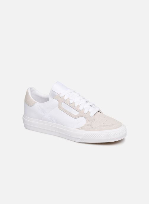Trainers adidas originals Continental Vulc W White detailed view/ Pair view