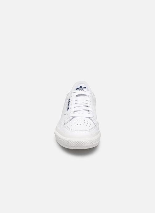 Deportivas adidas originals Continental Vulc W Blanco vista del modelo