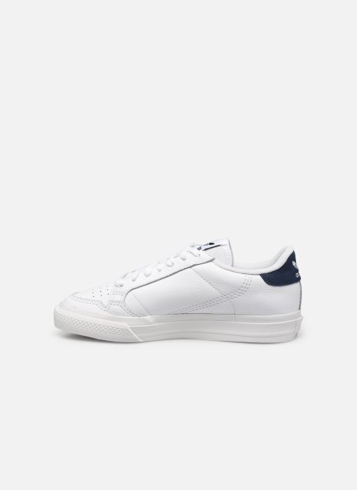 Sneakers adidas originals Continental Vulc W Wit voorkant