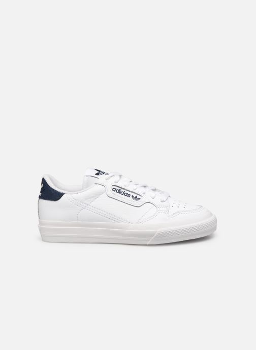 Sneakers adidas originals Continental Vulc W Wit achterkant