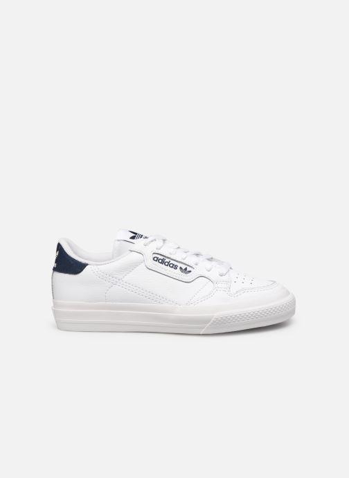 Deportivas adidas originals Continental Vulc W Blanco vistra trasera