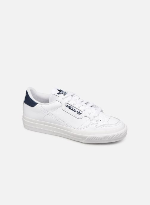 Deportivas adidas originals Continental Vulc W Blanco vista de detalle / par