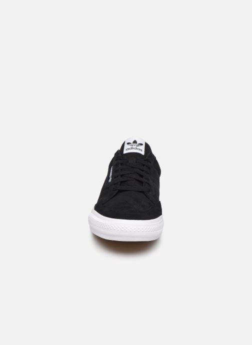 Baskets adidas originals Continental Vulc W Noir vue portées chaussures