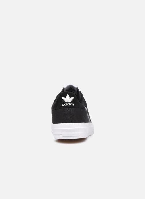 Baskets adidas originals Continental Vulc W Noir vue droite
