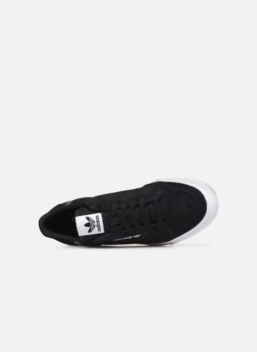 Baskets adidas originals Continental Vulc W Noir vue gauche