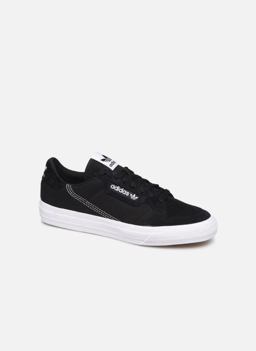 Baskets adidas originals Continental Vulc W Noir vue détail/paire