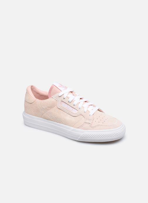 Sneakers adidas originals Continental Vulc W Rosa vedi dettaglio/paio