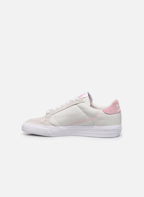 Sneaker adidas originals Continental Vulc W beige ansicht von vorne