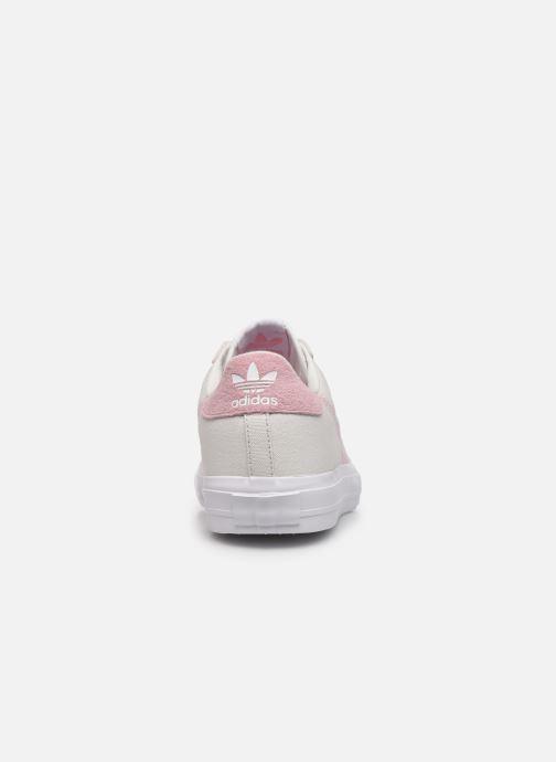 Sneaker adidas originals Continental Vulc W beige ansicht von rechts
