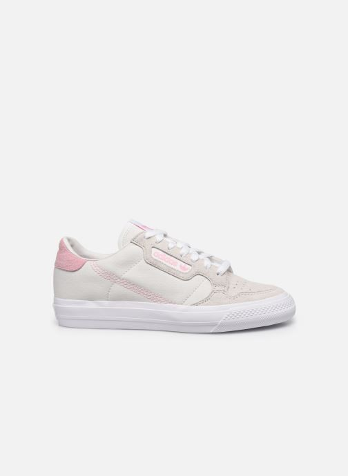 Sneaker adidas originals Continental Vulc W beige ansicht von hinten