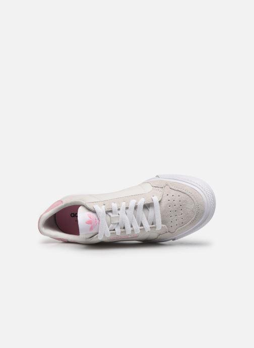 Sneaker adidas originals Continental Vulc W beige ansicht von links