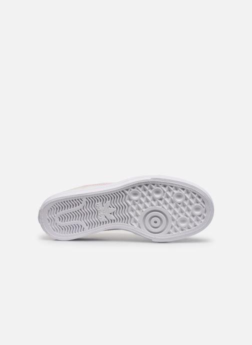 Sneaker adidas originals Continental Vulc W beige ansicht von oben